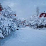 Stockholm under snow